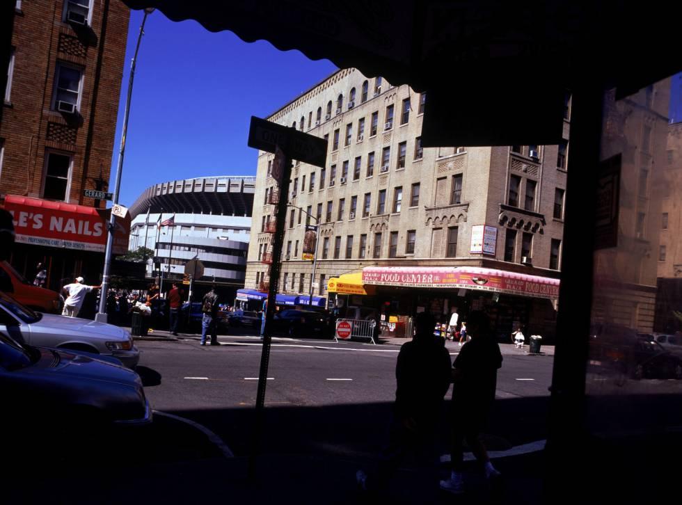 O estádio dos Yankees em Nova York, no Bronx.