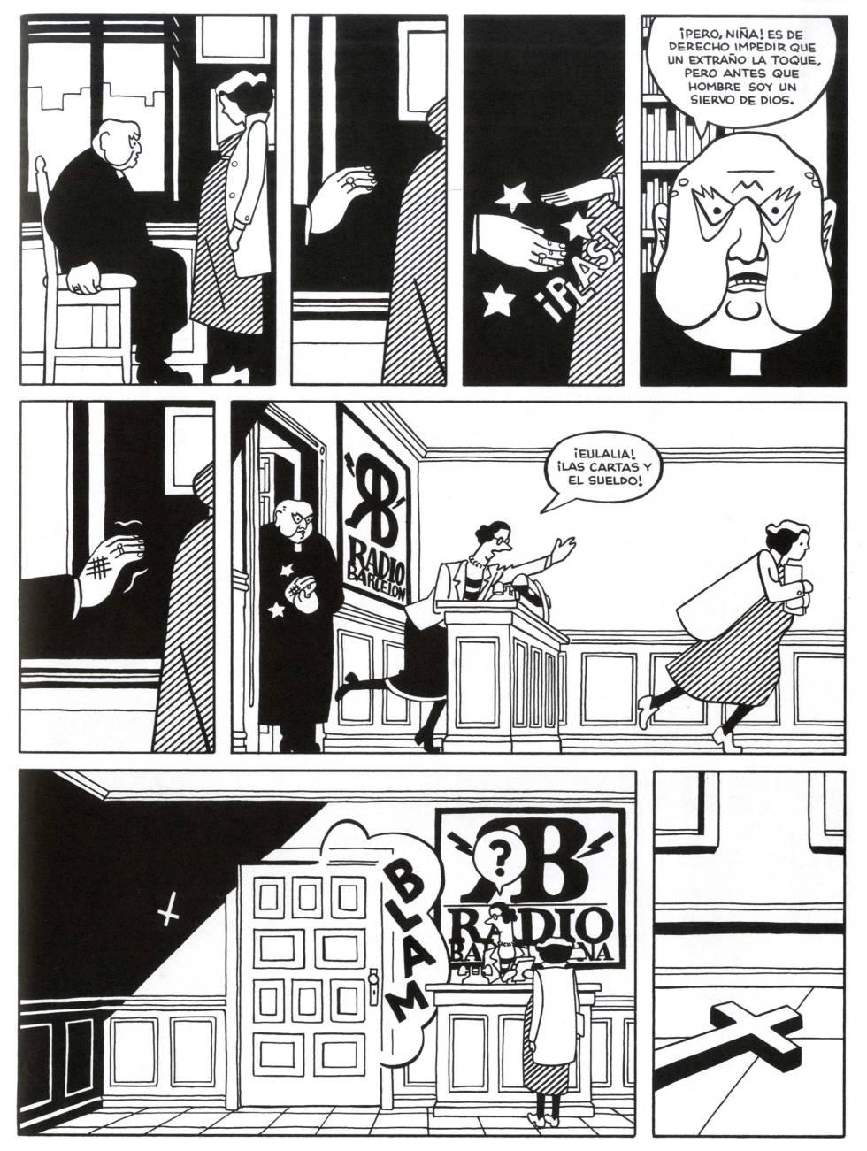 Página de 'Lamia', de Rayco Pulido.