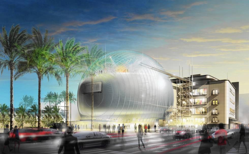 Imagen virtual del Museo de la Academia de Hollywood.