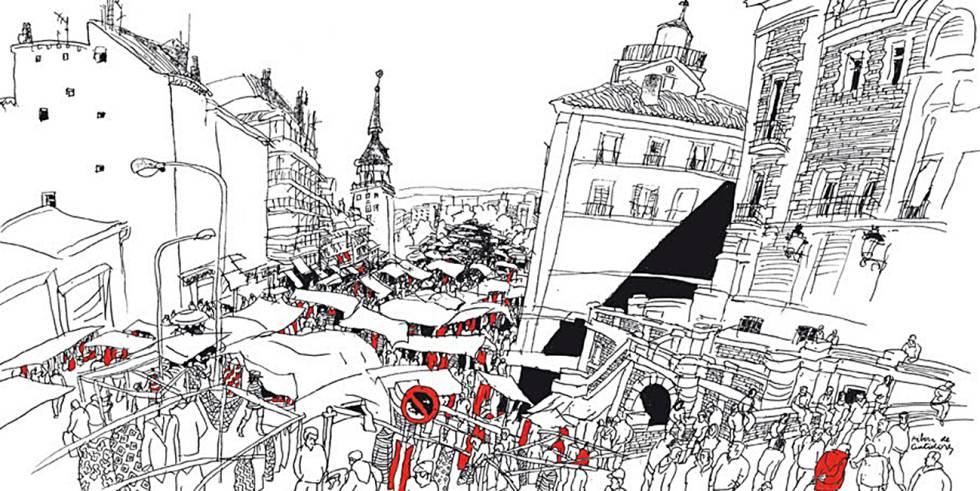 Ilustración del dibujante Alfredo.