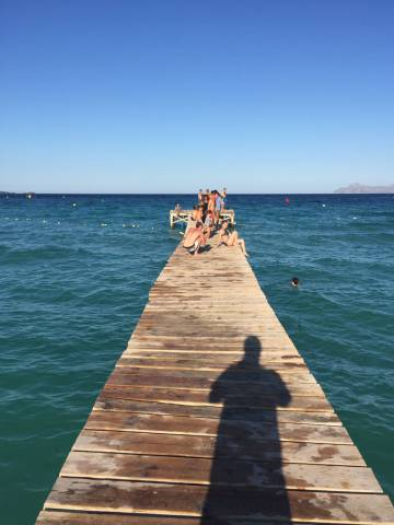 Fotografía tomada por Manuel Bartual durante sus vacaciones.