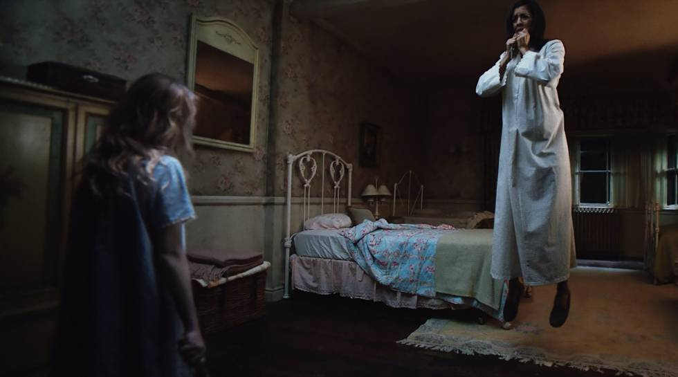 Fotograma de 'Annabelle: Creation'.