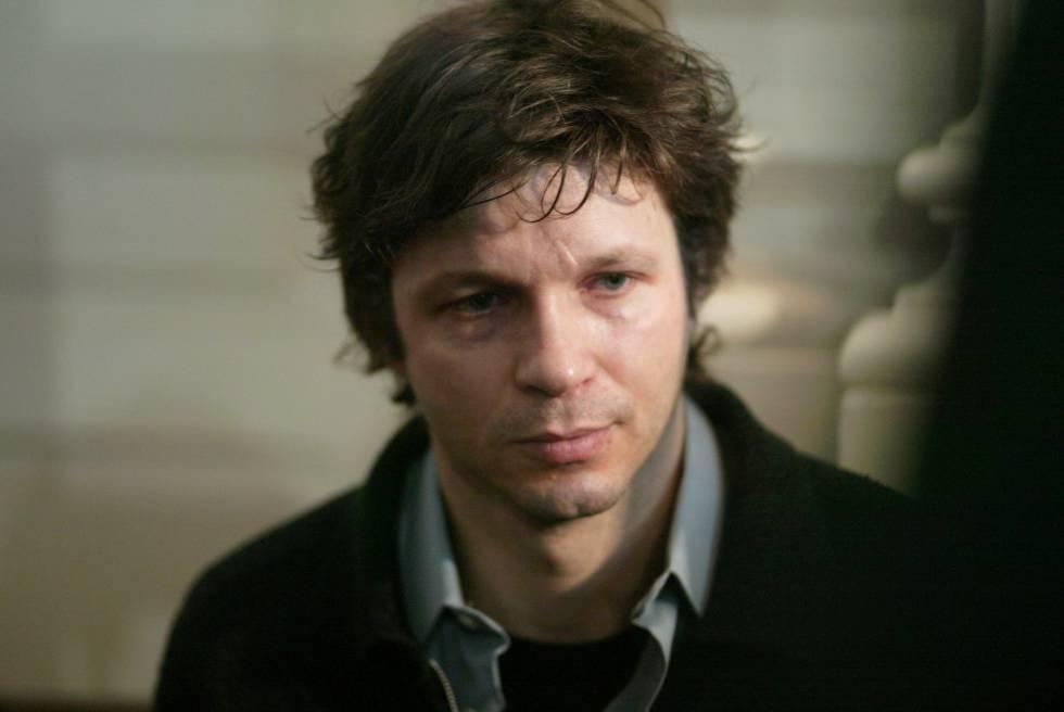 El músico francés Bertrand Cantat, en el juicio por el asesinato de Marie Trintignant, en 2004.