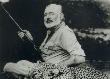 Was Hemingway's macho posturing merely a front?