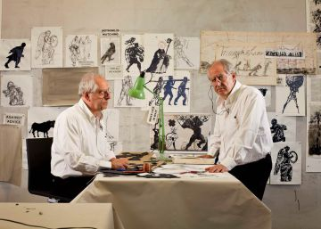 William Kentridge despliega su arte político de marionetas en el Reina Sofía