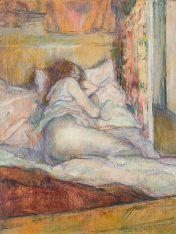 'La cama' (1898), de Toulouse-Lautrec.