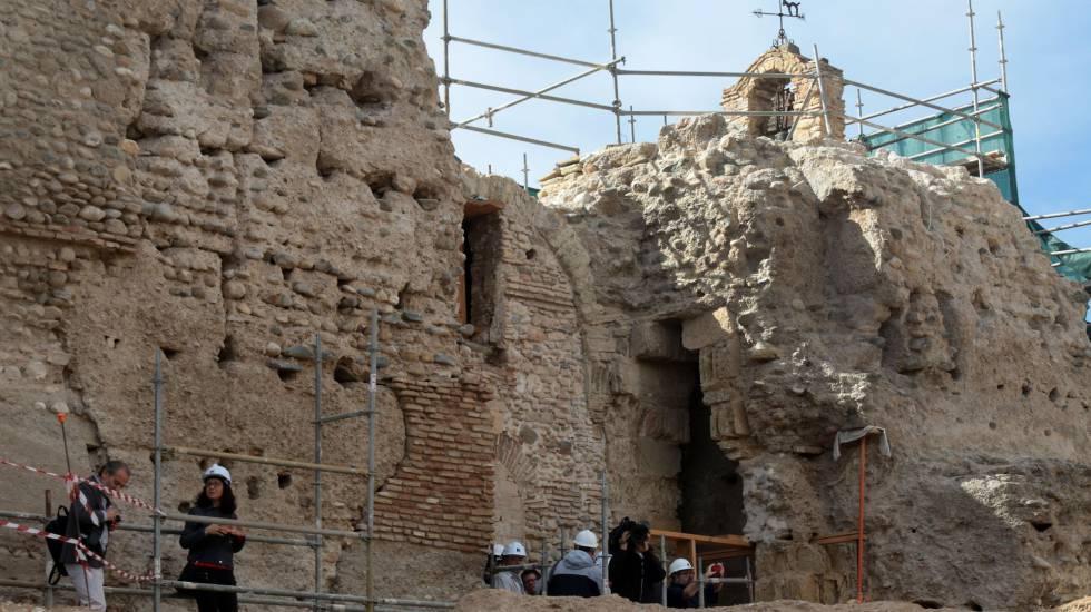 Descubierta una muralla bera en el albaic n de granada - Restauradores granada ...