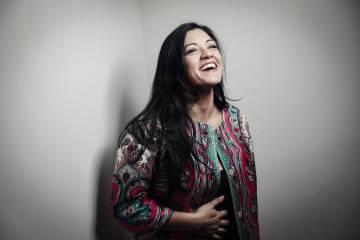Saray Muñoz, cantaora e hija de Tina, del grupo Las Grecas.