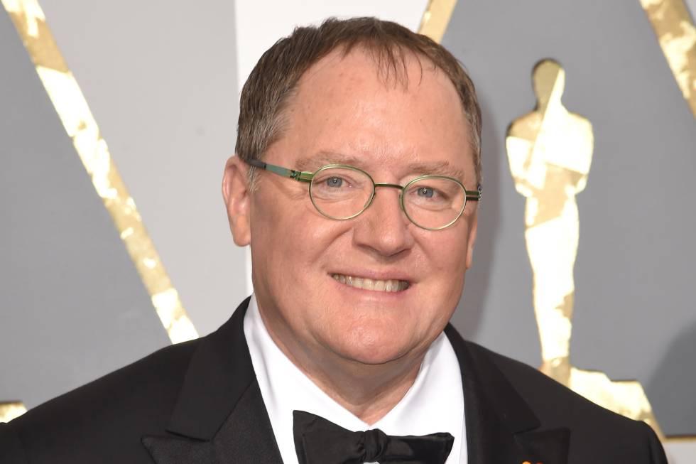 John Lasseter, en los Oscar del año pasado.