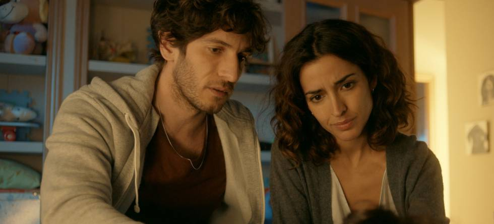 Quim Gutiérrez e Inma Cuesta en 'El accidente'.