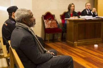 Leonardo Patterson, durante el juicio en Santiago de Compostela en 2013.