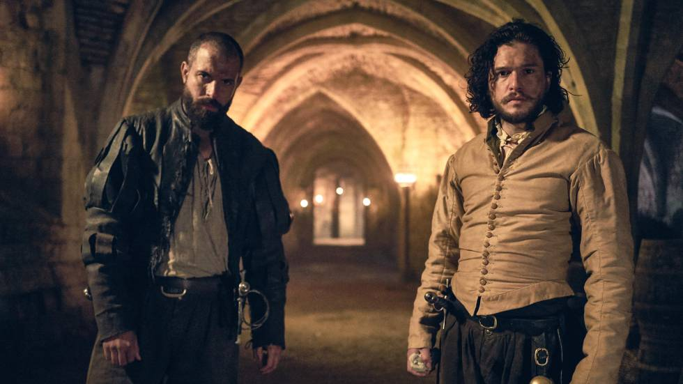 Tom Cullen y Kit Harington en 'Gunpowder'.
