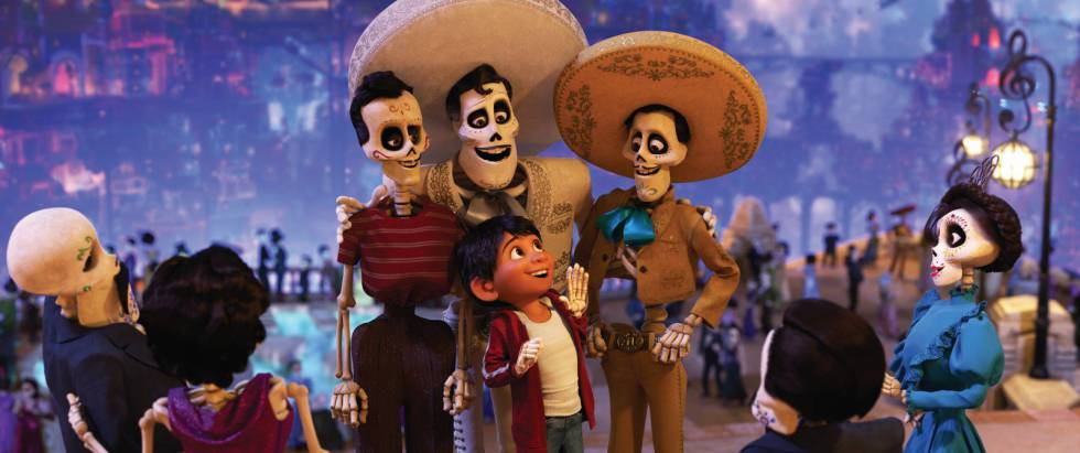miguel the protagonist of pixars hit film visits the world of the dead