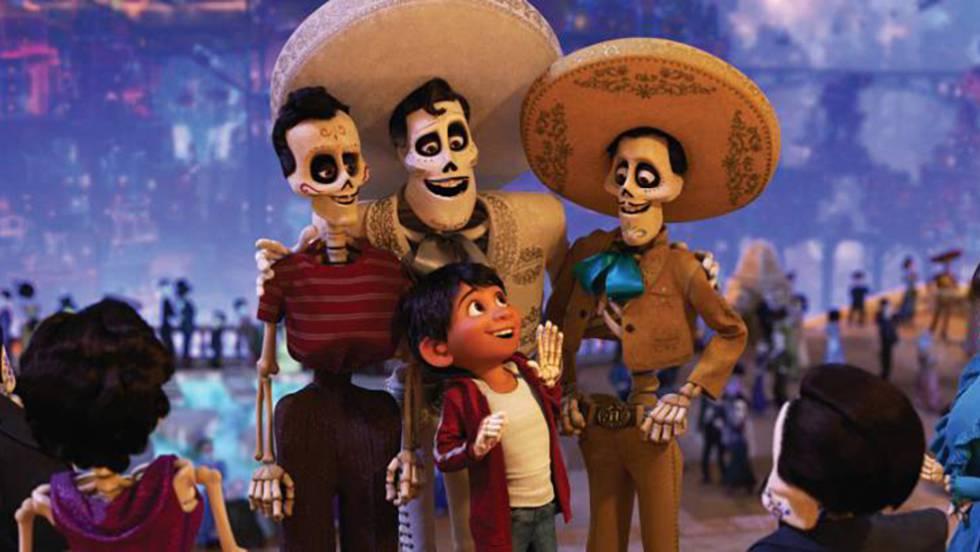 'Coco' arrasa con su fiel retrato del Día de los Muertos de México