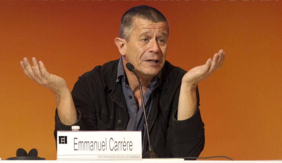 Emmanuel Carrère este miércoles en la FIL.