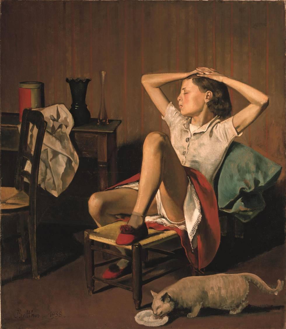 'Teresa sonhando', de Balthus.