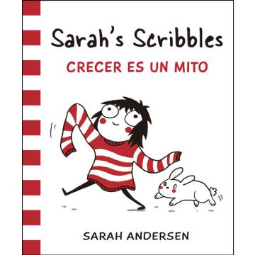 Portada del primer volumen de Sarah's Scribbles en castellano.