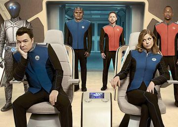 'The Orville', no puedo creer que no sea 'Star Trek'