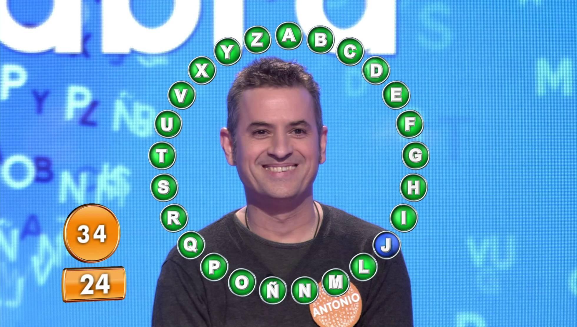 Antonio Ruiz ganador de Pasapalabra