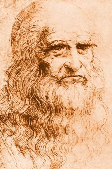 Autorretrato de Da Vinci (1513).