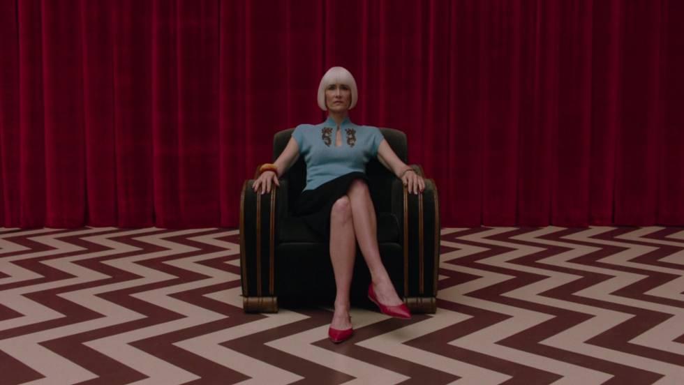 Laura Dern, en 'Twin Peaks'.