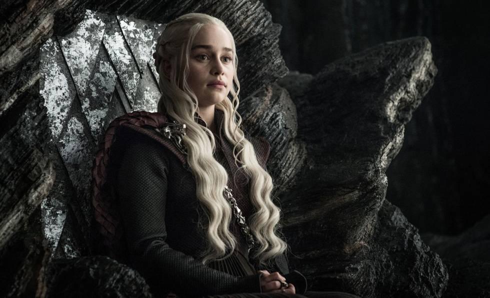 Emilia Clarke, en 'Juego de tronos'.