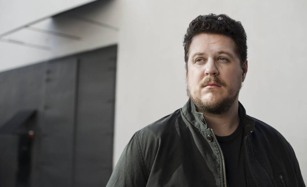 El actor Cameron Britton.