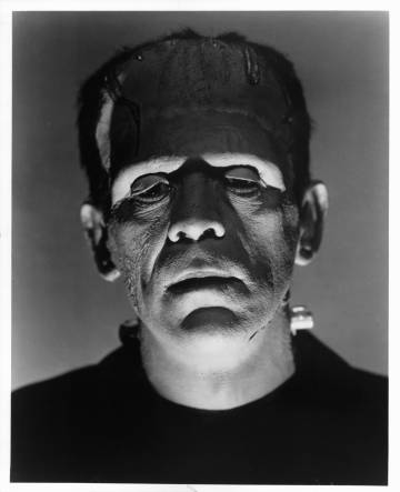 Boris Karloff en 'El doctor Frankenstein', de James Whale.