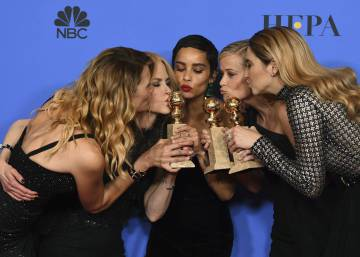 'Big Little Lies' y 'The Handmaid's Tale' triunfan en los Globos de Oro