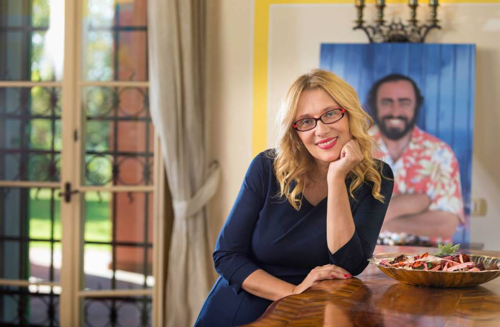 La viuda de pavarotti hoy la voz no es siempre lo for Luciano pavarotti nicoletta mantovani