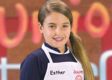 Esther, ganadora de 'MasterChef Junior' 5