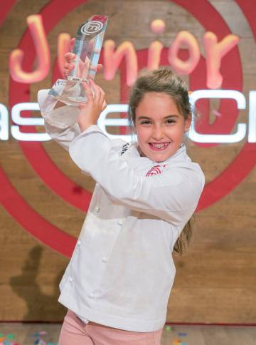 Esther, ganadora de 'MasterChef Junior'.