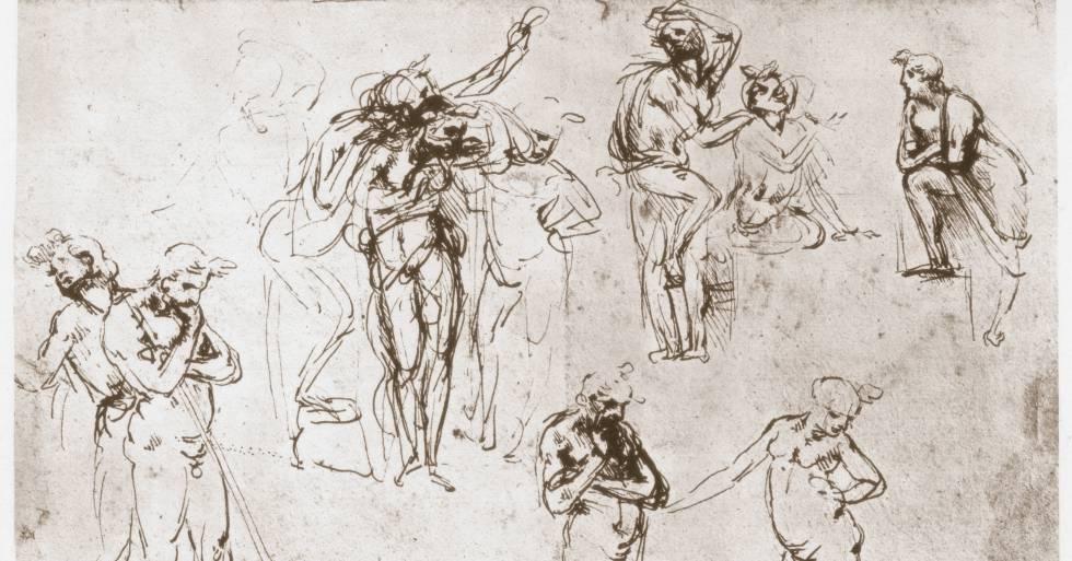 La adoración de los magos, de Leonardo Da Vinci. rn