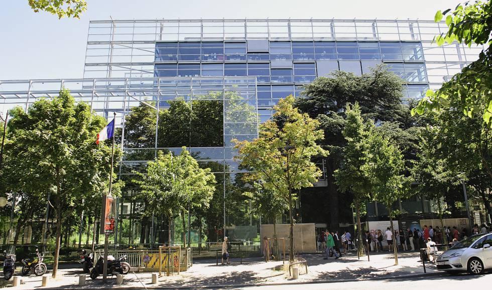 Sede de la Fundación Cartier, en París, edificio diseñado por Jean Nouvel.