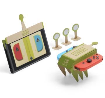 El coche remoto de Nintendo Labo.