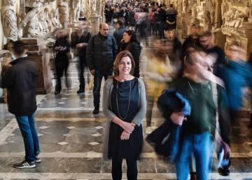 La mujer con más galones del Vaticano
