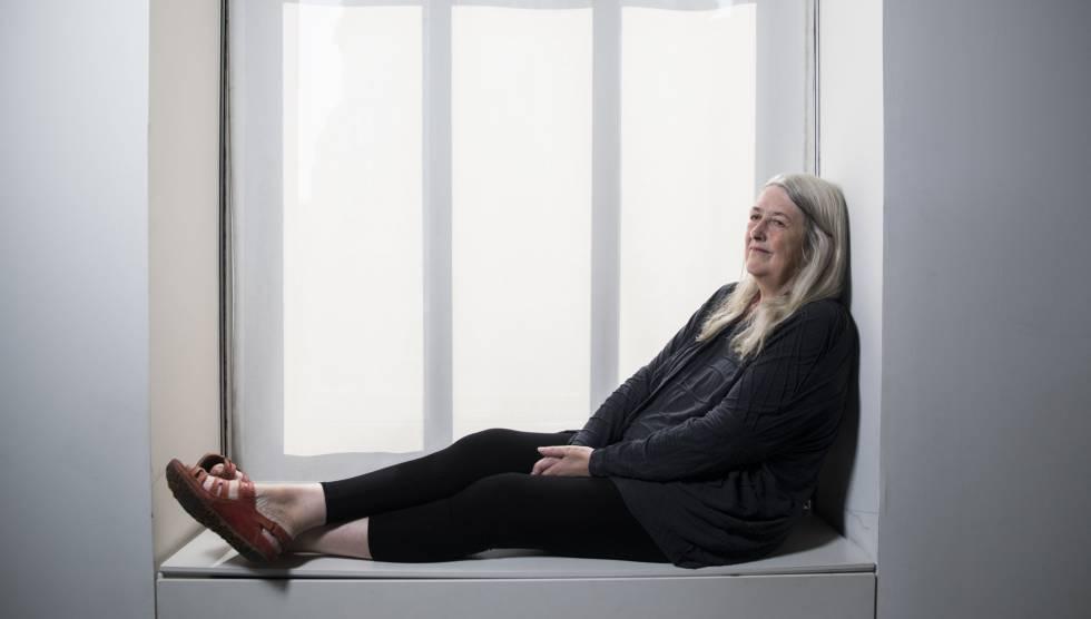 A acadêmica inglesa Mary Beard, retratada em Madri.