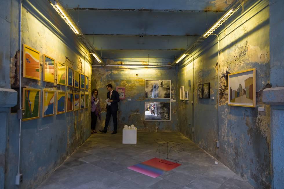 Espacio expositivo de Salón Acme, en Ciudad de México