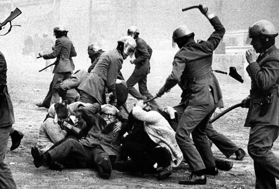 Resultado de imagen de manifestaciones antifranquistas