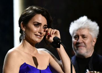 Penélope Cruz recibe el César de Honor