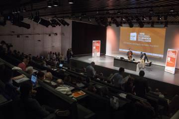 Un momento del congreso organizado por Cegal en Sevilla.