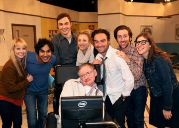Los actores de 'The Big Bang Theory' se despiden de Stephen Hawking