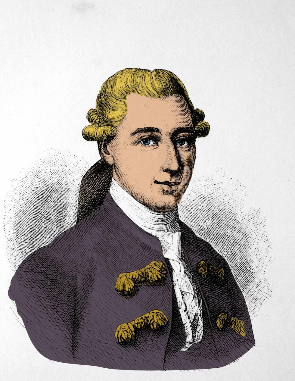 Ilustración de Johann Friedrich Struensee.