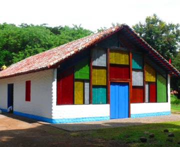 Iglesia reconstruida.