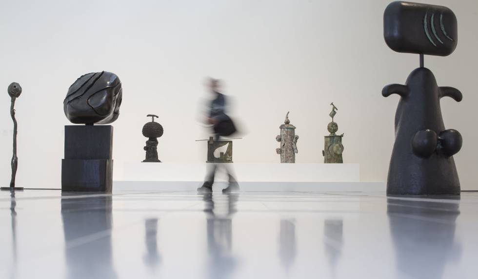 'Femme'(1981), de Joan Miró.
