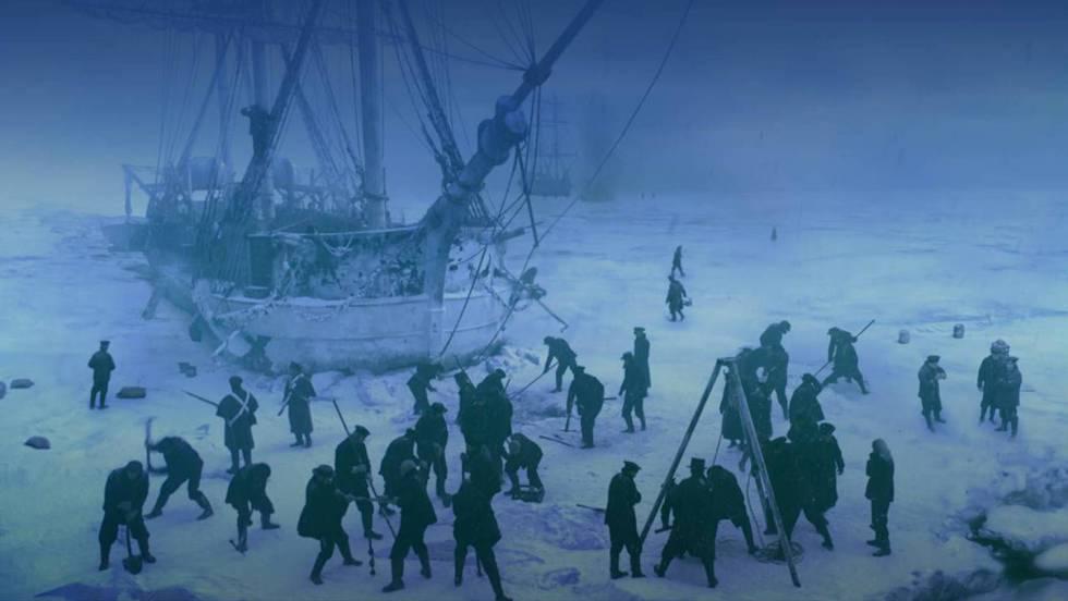 Atrapados en el Ártico, nadie podía oír sus gritos