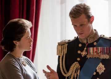 Una petición online solicita a Matt Smith donar parte de su salario en 'The Crown' a Time's Up