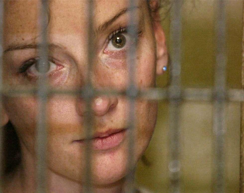 La francesa Florence Cassez, el día de su detención en México en diciembre de 2005.