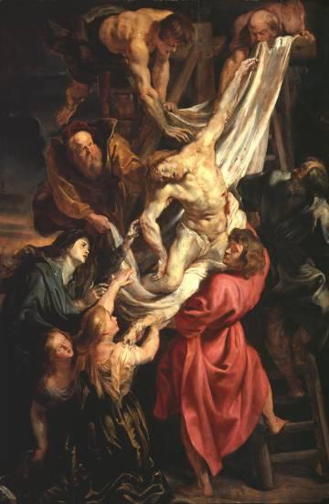 'El Descendimiento' (h. 1611-12), de la colección de la Courtlaud Gallery de Londres.