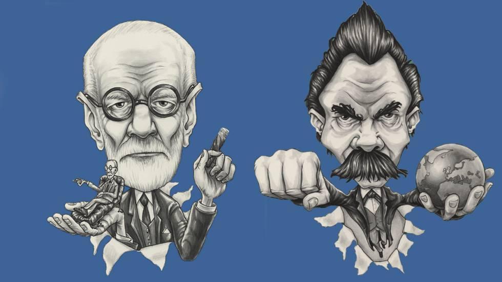 Freud y Nietzsche.